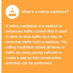Rolling Roadblock Images block