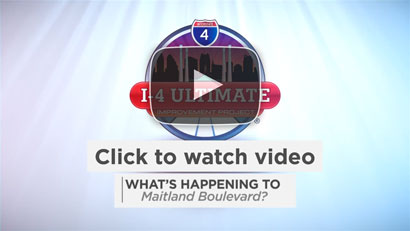 Click to watch What's Happening to Maitland Blvd'