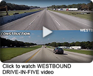 westbound drive in five video image