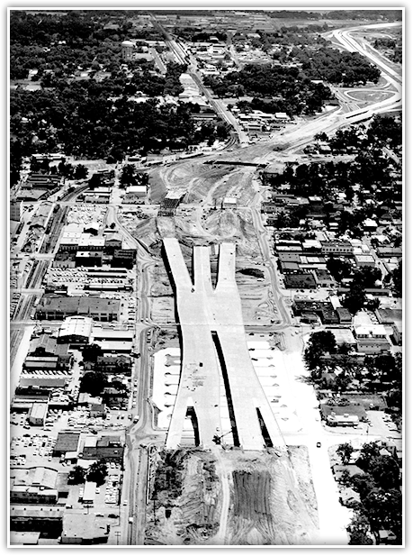 Originally known as the Orlando Expressway, I-4 was built in six segments at a cost of $42.2 million.