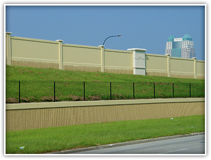 Sound barrier walls will reduce noise impacts for residential communities adjacent to the I-4 corridor.