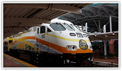 SunRail is a great alternate mode of transportation and will help relieve congestion throughout I-4 Ultimate construction.
