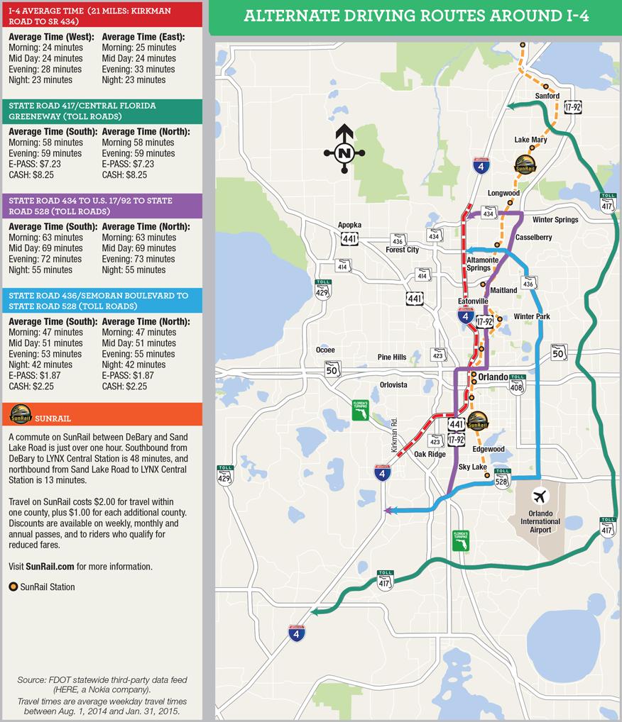 Interstate 4 Map • Mapsof.net