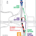 EB I-4 nightly detour and WB I-4 rolling roadblocks at Maitland Boulevard scheduled for May