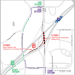NB Kirkman Rd. and EB I-4 exit ramp temporarily closing May 21-24