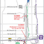 Nighttime closure of EB I-4 at S.R. 408 extended an additional night