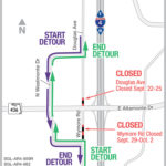 Closures On Douglas Avenue and Wymore Road Near S.R. 436