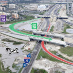 WB I-4 Off-Ramp to SB Kirkman Rd. changing to Right Exit from Left