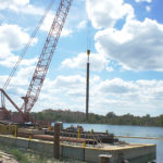 Lake Ivanhoe's Floating Work Site