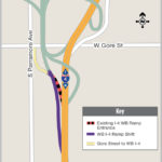 New WB I-4 On-Ramp from Gore St./S.R. 408 Opening November 13