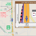 Nighttime Closure and Traffic Shift of WB I-4 Exit Ramp to S.R. 436 Set for Nov. 7
