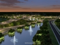 Rendering: I-4 Ultimate - I-4 and Maitland Blvd. (Night)