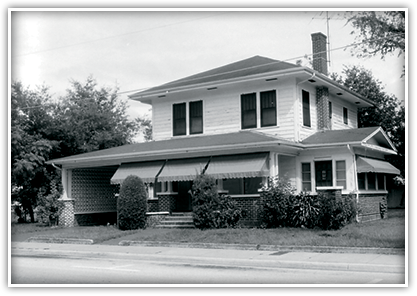 The Wells House in the Holden-Parramore Historic District was once home to one of Orlando's longest practicing African-American doctors.