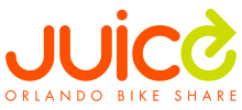 Juice Orlando Bike Share logo