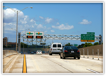 Miami-Dade County successfully converted high-occupancy vehicle lanes on I-95 to Express Lanes, and the improved speeds are keeping traffic moving.