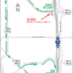 WB I-4 On-Ramp from WB Maitland Blvd Closed Weekend of Feb. 9