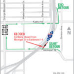 Eastbound I-4 On-Ramp from Michigan Street Closing for 1 Year