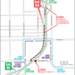 WB I-4 Exit Ramp to Michigan St. & Michigan St. under I-4 Closing Nightly for Two Weeks