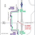 Douglas Avenue Closure Set for Weekend of March 2