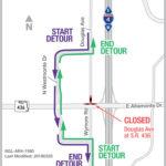Douglas Avenue Closure Set for Weekend of April 20