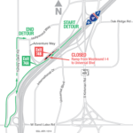 WB I-4 exit ramp to Adventure Way closing nightly April 18-May 3