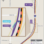 Westbound I-4 between Gore Street and Orange Blossom Trail Shifting to New Alignment