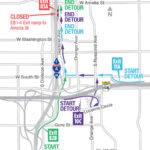 Nightly closures of EB I-4 ramp to Amelia St. May 2-5