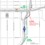 Gore St. and Division Ave. Intersection and EB I-4 Ramp to South St. Closing May 18-20