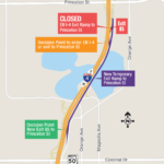 Access Changes to and from Interchanges along EB I-4