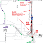 Westbound I-4 at Maitland Boulevard (State Road 414) Closing at Midnight on September 14, 17 and 18