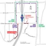 Nighttime Road Closures in College Park on Sept. 6 and 7