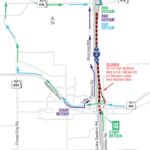 EB I-4 Traffic Diverted at Maitland on Sept. 9–13