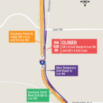 Eastbound I-4 Exit Ramp to Lee Rd Shifting to New Location on Oct. 10