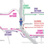 Wymore Road between Salisbury Blvd. and Riddle Dr. closing nightly