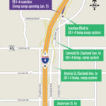 Temporary On Ramp to EB I-4 at Ivanhoe Boulevard Opens