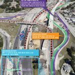Work Underway on Temporary Configuration for EB I-4 Exits to S.R. 408 and South St.