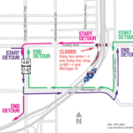 Kaley Avenue under I-4 closing at night for one week