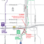 UPDATE: Eastbound I-4 in Downtown Orlando Closing Early Morning on April 11-14