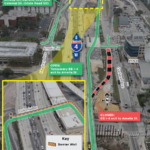 EB I-4 Exit Ramp to Amelia St. Temporarily Changing