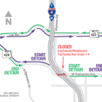 Nightly Closures and Weekend Closure of Fairbanks Ave. under I-4