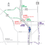 WB lane on Fairbanks Ave. and multiple ramps closing weekend of June 7