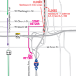 WB I-4 through downtown Orlando shifting June 29