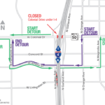 Colonial Drive Under I-4 Closing Nightly and on Weekends in Late July Through Mid-August
