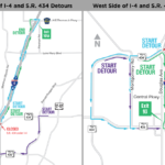 UPDATE: State Road 434 under I-4 Closing Nightly During July
