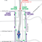 Par St. Under I-4 Closing Weekend of Aug. 9