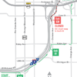 EB I-4 Exit Ramp to South Street Closing the Weekend of October 25
