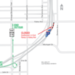 EB I-4 Ramp to Kaley Avenue Closing Nightly for One Week