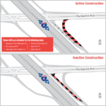Temporary Ramp Shifts on EB I-4 Exit Ramp to Fairbanks Ave.