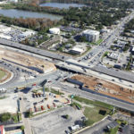 Westbound I-4 From Lee Road to Fairbanks Avenue Shifting to Temporary Configuration