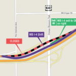 WB I-4 Exit Ramp to Orange Blossom Trail Shifting